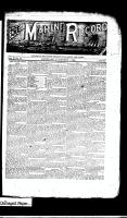 Marine Record (Cleveland, OH1883), October 11, 1888