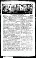 Marine Record (Cleveland, OH1883), January 10, 1889