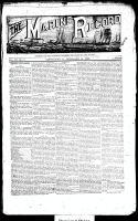 Marine Record (Cleveland, OH1883), February 14, 1889