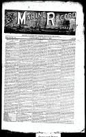 Marine Record (Cleveland, OH1883), April 4, 1889
