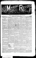 Marine Record (Cleveland, OH1883), April 18, 1889