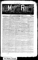 Marine Record (Cleveland, OH1883), May 16, 1889