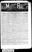 Marine Record (Cleveland, OH1883), May 30, 1889
