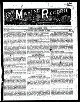 Marine Record (Cleveland, OH1883), January 18, 1894