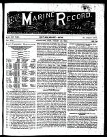 Marine Record (Cleveland, OH1883), August 30, 1894