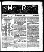 Marine Record (Cleveland, OH1883), September 20, 1894