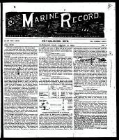 Marine Record (Cleveland, OH1883), January 10, 1895