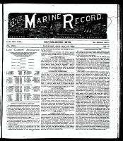 Marine Record (Cleveland, OH1883), May 23, 1895