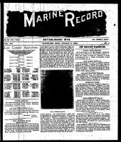 Marine Record (Cleveland, OH1883), January 9, 1896