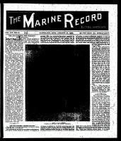 Marine Record (Cleveland, OH1883), January 16, 1896