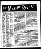 Marine Record (Cleveland, OH1883), March 12, 1896