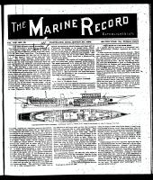 Marine Record (Cleveland, OH1883), March 26, 1896