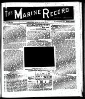 Marine Record (Cleveland, OH1883), April 9, 1896