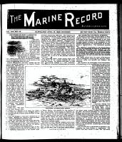 Marine Record (Cleveland, OH1883), Aptil 16, 1896