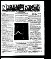 Marine Record (Cleveland, OH1883), January 28 1897