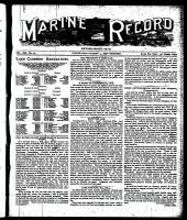 Marine Record (Cleveland, OH1883), August 4, 1898