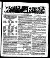 Marine Record (Cleveland, OH1883), December 8, 1898