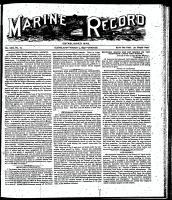 Marine Record (Cleveland, OH1883), March 9, 1899