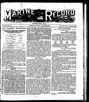 Marine Record (Cleveland, OH1883), June 1, 1899