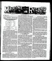 Marine Record (Cleveland, OH1883), December 28, 1899
