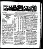 Marine Record (Cleveland, OH1883), July 31, 1902