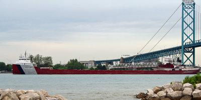 PHILIP R CLARKE, of the Great Lakes Fleet