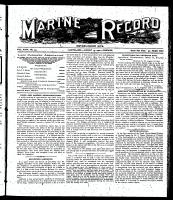 Marine Record (Cleveland, OH1883), August 15, 1901