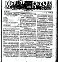Marine Record (Cleveland, OH1883), August 29, 1901