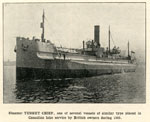 Steamer TURRET CHIEF