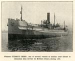 Steamer TURRET CHIEF