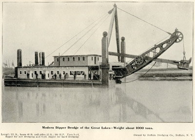 Modern Dipper Dredge of the Great Lakes