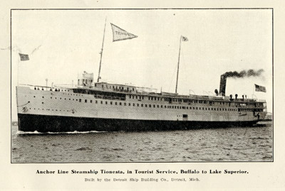 Anchor Line Steamship Tionesta