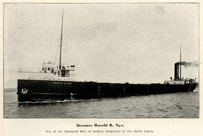 Steamer Harold B. Nye