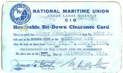Honorable Sit-Down Clearance Card
