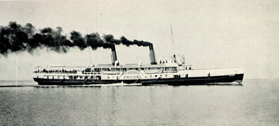The CHICORA on Lake Ontario