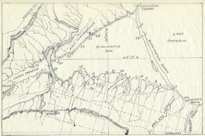 Plan of Hamilton docks, 1836