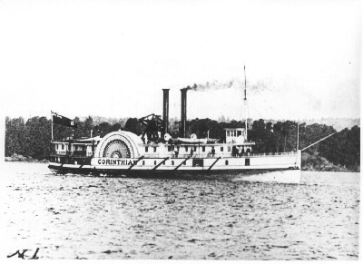 The steamer CORINTHIAN in Hamilton Harbour