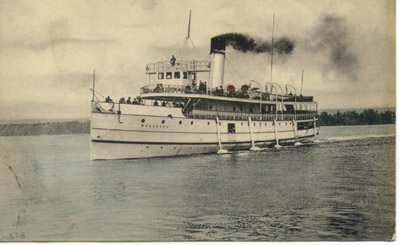 The steamer MODJESKA in Hamilton Harbour