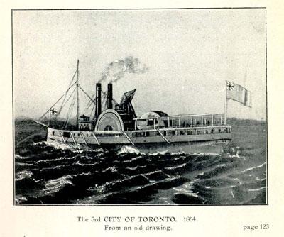 The CITY OF TORONTO. 1864.