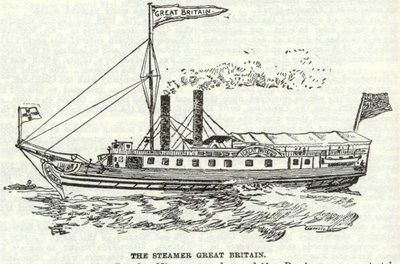 The Steamer Great Britain