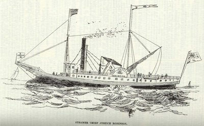 Steamer Chief Justice  Robinson