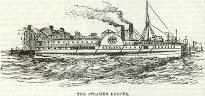 The Steamer Europa