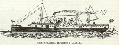 The Steamer Rothesay Castle