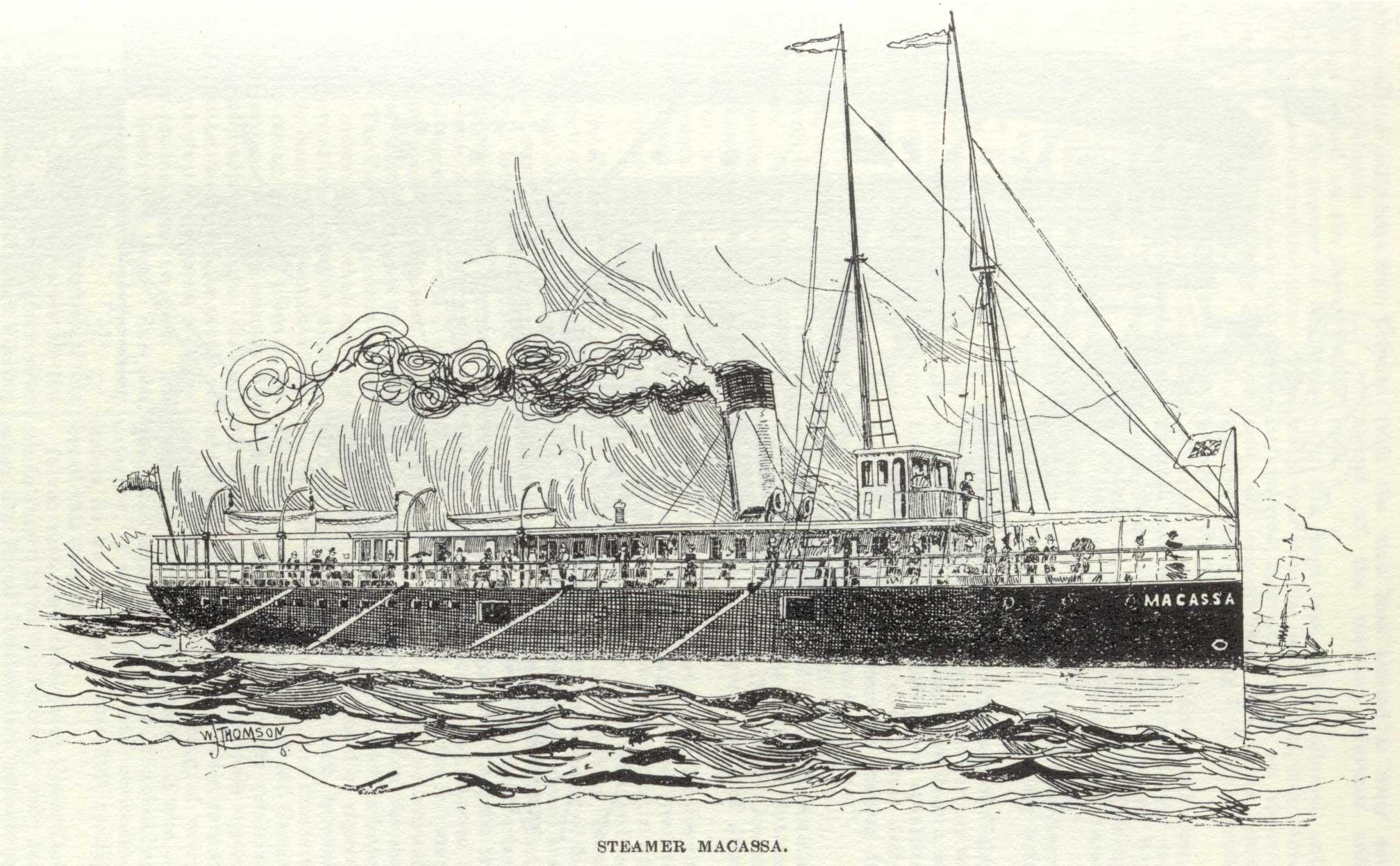 Steamer Macassa