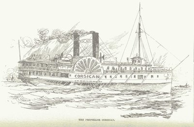The Steamer Corsican