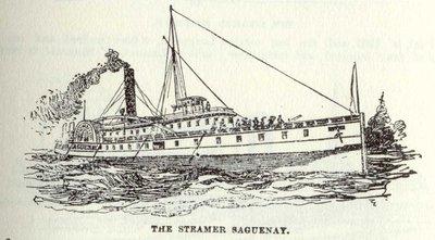 The Steamer Saguenay