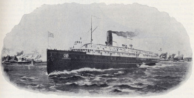 Passenger Steamer City of Buffalo