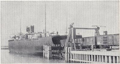 Steel Car Ferry Pere Marquette.
