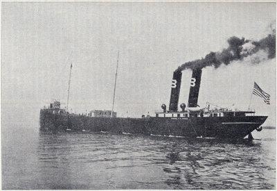 Largest Vessel on the Lakes -- Propeller Samuel F. B. Morse