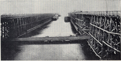 Iron Ore Shipping Docks, Duluth, Minn.